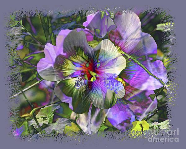 Flower Art Print featuring the photograph Kaleidoscope Pollen by Chuck Brittenham