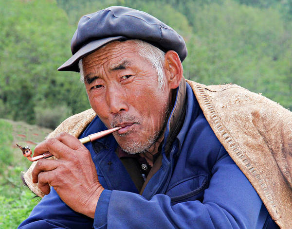 China Art Print featuring the photograph Peasant Farmer by Marla Craven