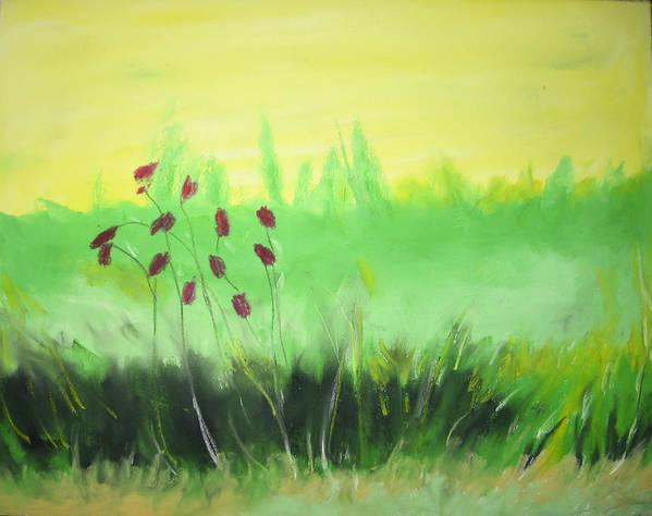 Art Print featuring the painting Spring by Ingrid Torjesen