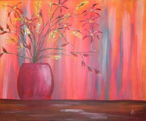 Still Life Art Print featuring the painting Still Colors by Patti Spires Hamilton
