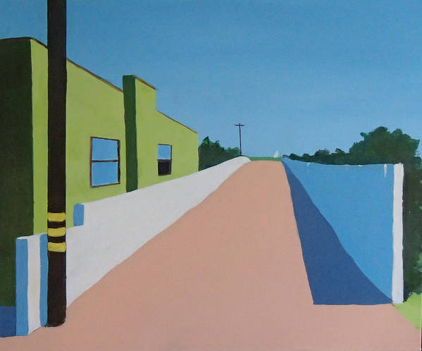 Summerland Art Print featuring the painting Summerland by Philip Fleischer