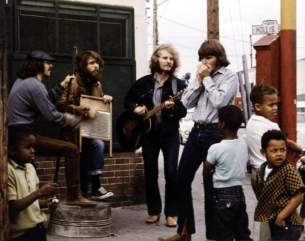 Music Art Print featuring the photograph Photo Of Creedence Clearwater Revival by Michael Ochs Archives