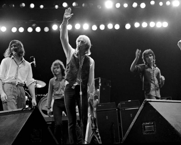 Music Art Print featuring the photograph Photo Of Tom Petty & The Heartbreakers by Michael Ochs Archives