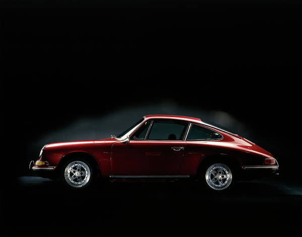 Aerodynamic Art Print featuring the photograph 1967 Porsche 911 by Heritage Images