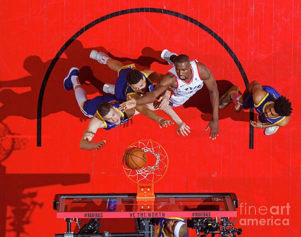 Playoffs Art Print featuring the photograph 2019 Nba Finals - Golden State Warriors by Mark Blinch