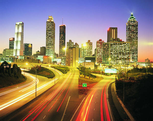 Atlanta Art Print featuring the photograph Atlanta Skyline, Georgia, Usa by Travel Ink