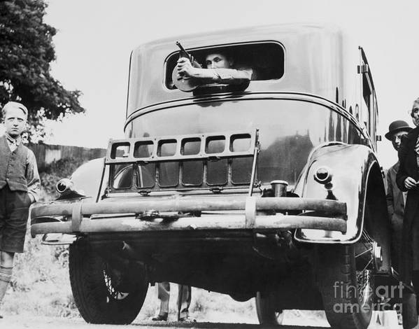Child Art Print featuring the photograph Automobile Constructed For Al Capone by Bettmann