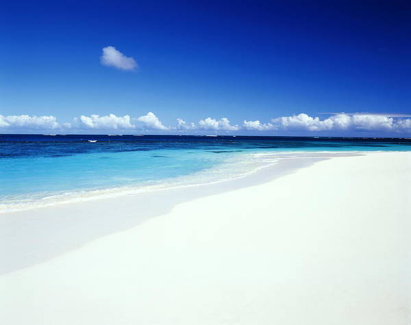Scenics Art Print featuring the photograph Caribbean Anguilla Shoal Bay Beach by Buena Vista Images