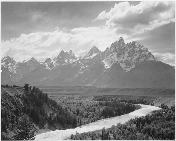 Snow Art Print featuring the photograph Grand Teton by Buyenlarge