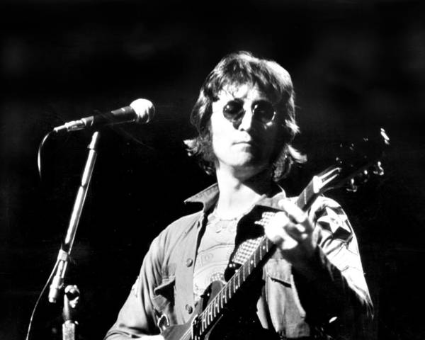 Usa Art Print featuring the photograph John Lennon. Performing At Th One To by New York Daily News Archive