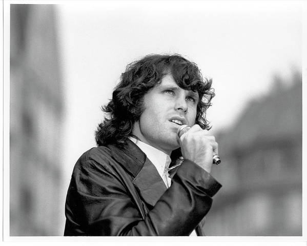 Music Art Print featuring the photograph Photo Of Morrison Jim by Michael Ochs Archives