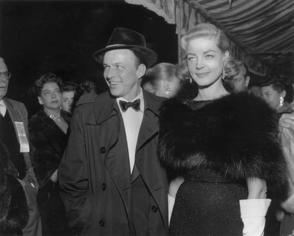 Event Art Print featuring the photograph Sinatra & Bacall by American Stock Archive