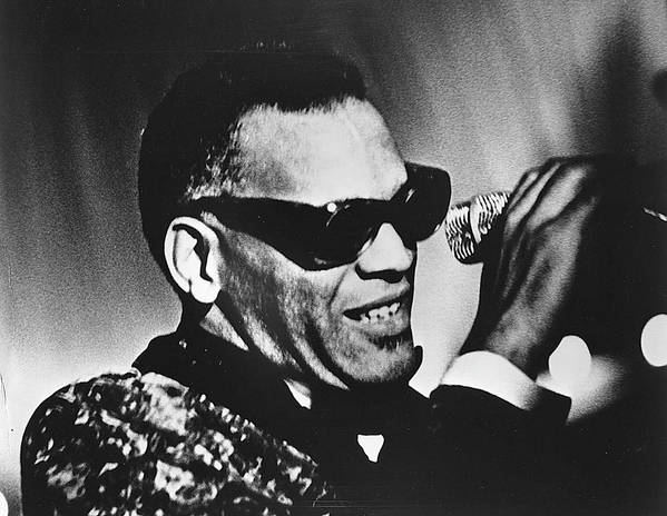 People Art Print featuring the photograph Singer Ray Charles by Afro Newspaper/gado