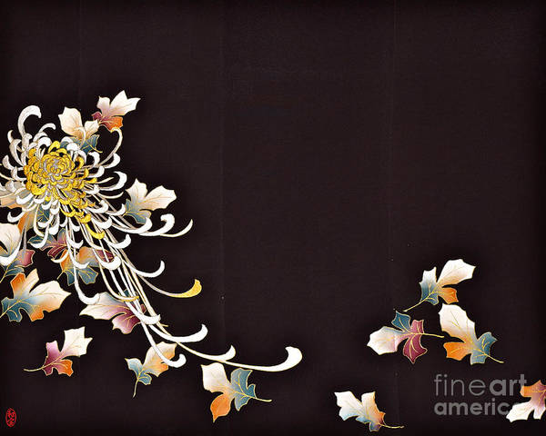 Art Print featuring the digital art Spirit of Japan T35 by Miho Kanamori