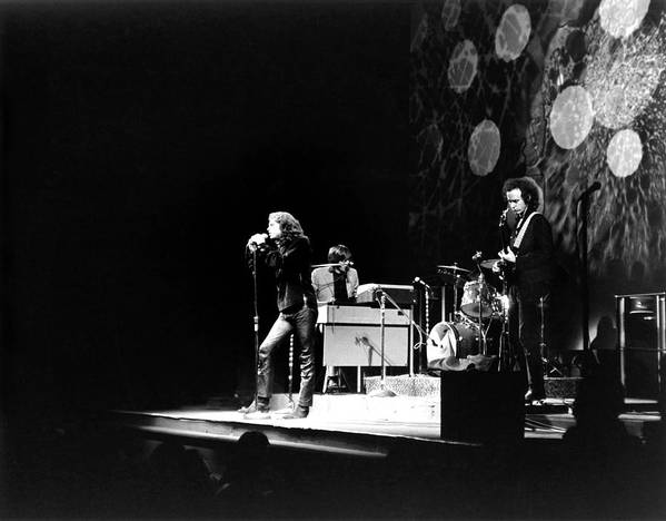 Rock Music Art Print featuring the photograph The Doors At The Fillmore East by Fred W. McDarrah