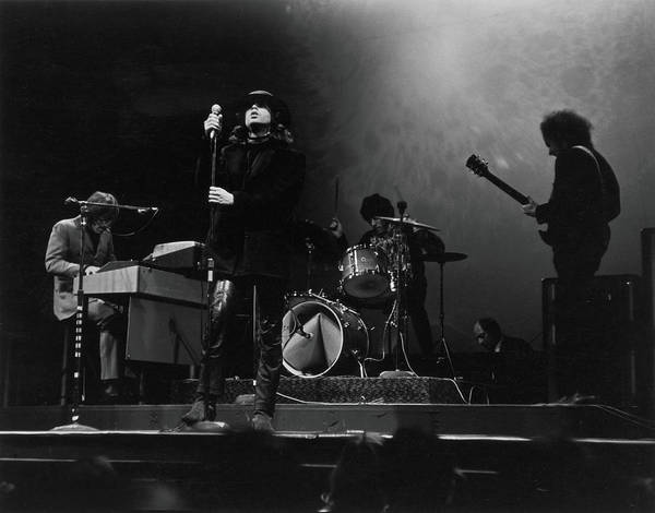 Rock Music Art Print featuring the photograph The Doors At The Filmore East by Fred W. McDarrah
