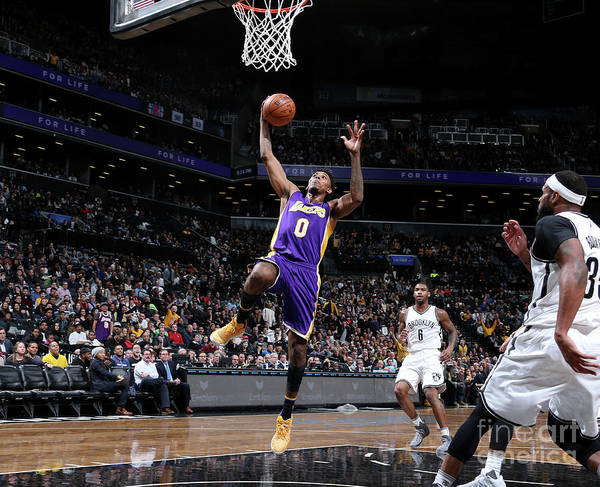 Nba Pro Basketball Art Print featuring the photograph Nick Young by Nathaniel S. Butler