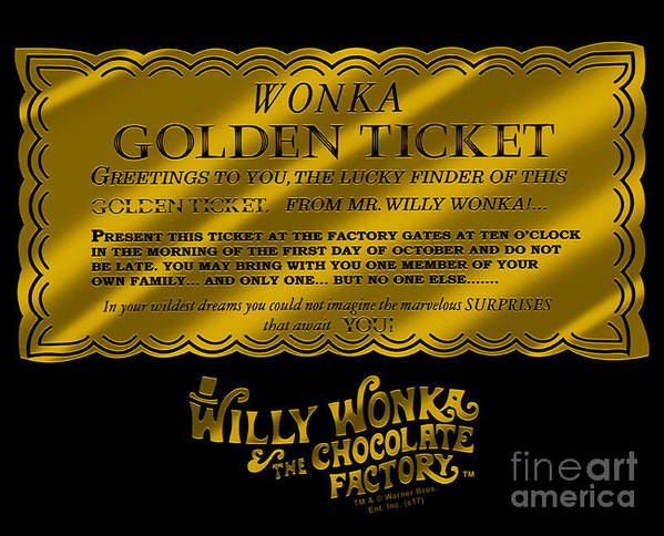 Willy Wonka And The Chocolate Factory by Patric Axelsson