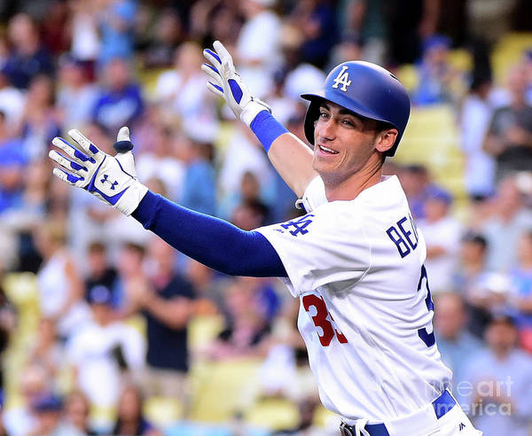 People Art Print featuring the photograph Cody Bellinger by Harry How
