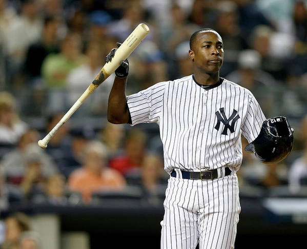 Alfonso Soriano Art Print featuring the photograph Alfonso Soriano by Elsa