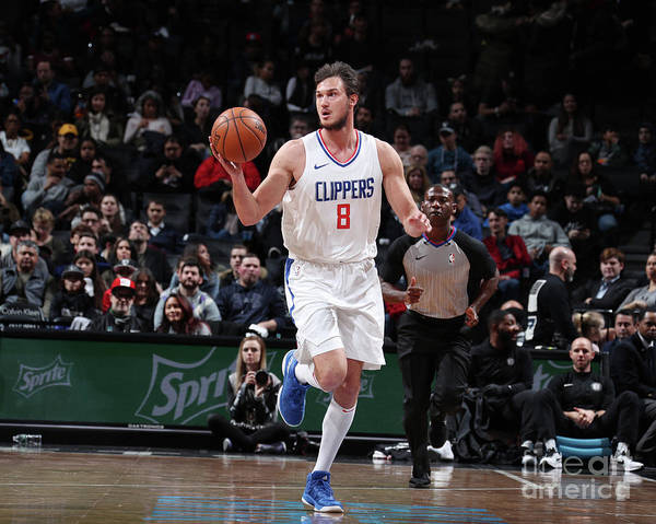 Danilo Gallinari Art Print featuring the photograph Danilo Gallinari by Nathaniel S. Butler