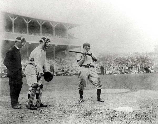 Home Base Art Print featuring the photograph Honus Wagner by National Baseball Hall Of Fame Library