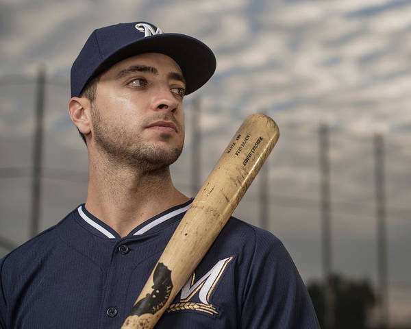 Media Day Art Print featuring the photograph Ryan Braun by Rob Tringali