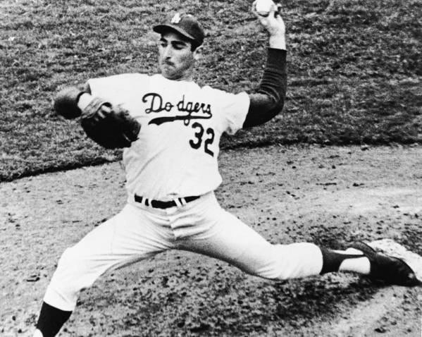 Sandy Koufax Art Print featuring the photograph Sandy Koufax by American Stock Archive