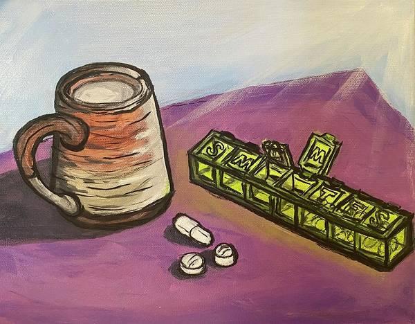 Still Life With Meds by Kathleen Reynolds