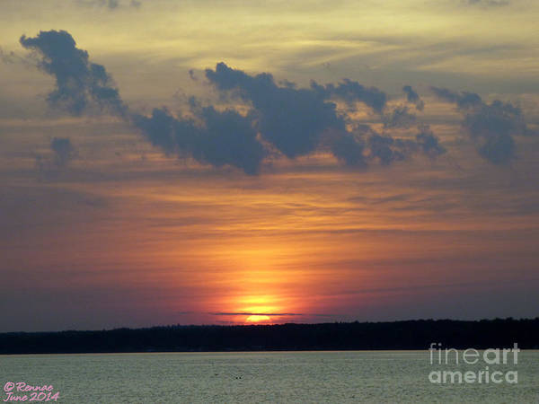Sun Art Print featuring the photograph Day's End by Rennae Christman
