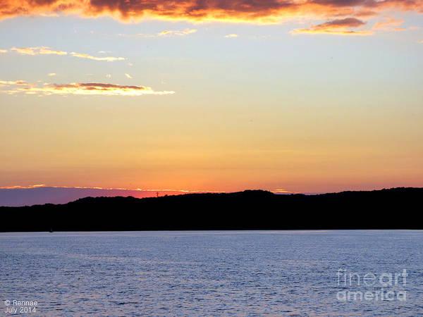 Landscape Art Print featuring the photograph After Sundown by Rennae Christman