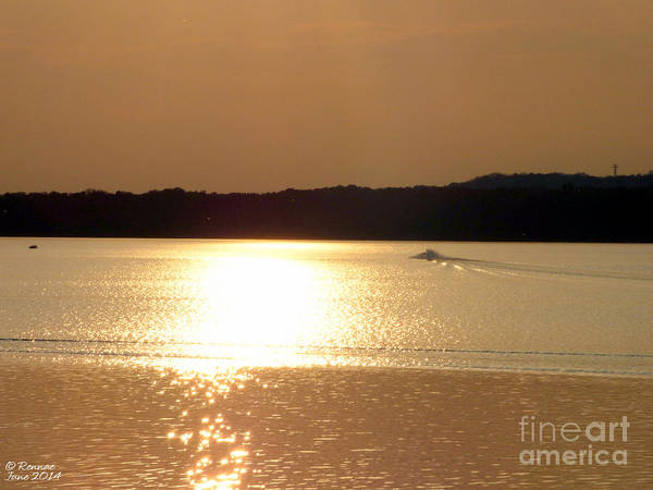 Lake Art Print featuring the photograph Catching The Waves At Delta by Rennae Christman