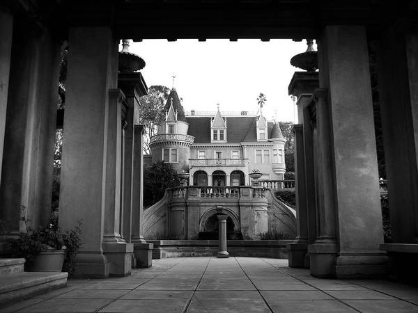 Redlands Art Print featuring the photograph Kimberly Crest - Victorian Home by Glenn McCarthy