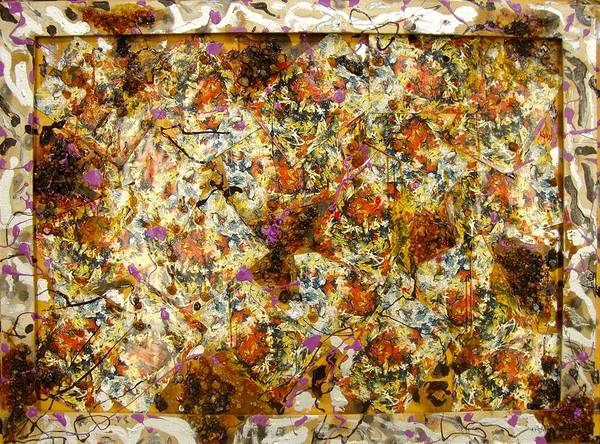 Art Print featuring the painting Materias assembled by Biagio Civale