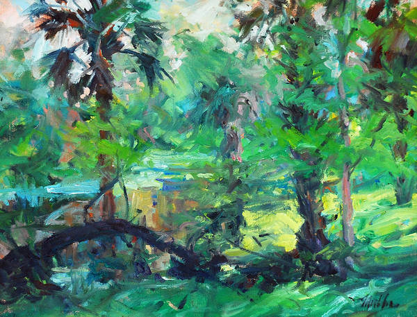 Second Prize 2014 Lighthouse Plein Air Festival Art Print featuring the painting River Morning by Marilyn Muller