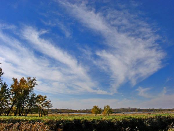 Landscape Art Print featuring the photograph Squaw Creek Landscape by Steve Karol