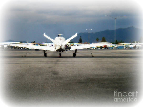 Aviation Art Print featuring the photograph What fly girl is dreaming about by De La Rosa Concert Photography