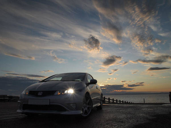 Fn2 Art Print featuring the photograph Type R by Christopher Mercer