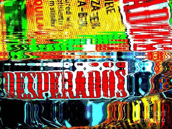 Desperados Biere Beer Publicity France Art Print By Francoise Leandre
