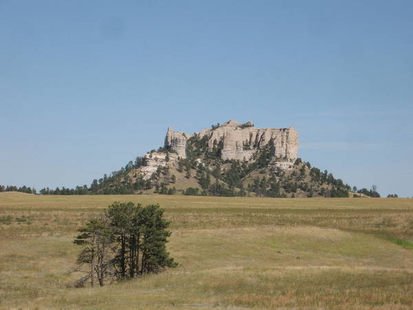 High Plains Art Print featuring the photograph Crow Butte by J W Kelly