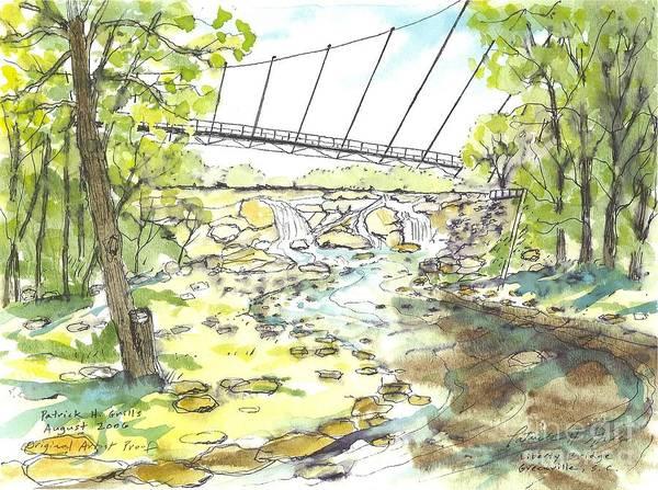 Liberty Bridge Three by Patrick Grills