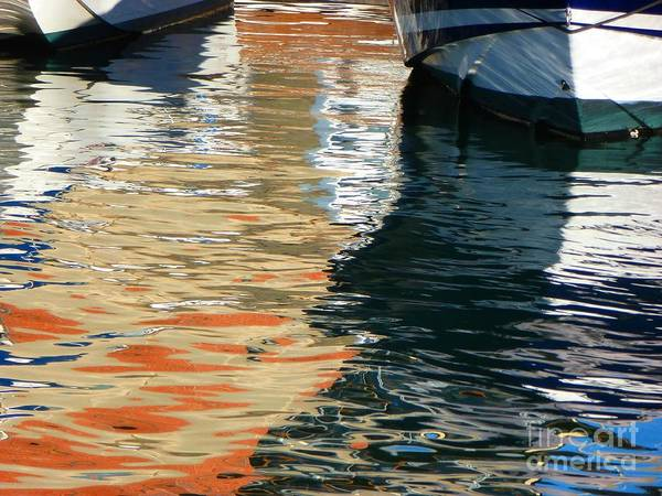 Marina Art Print featuring the photograph Water Ballet by Randy Sprout