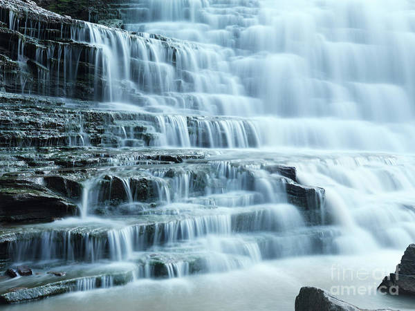Waterfall Art Print featuring the photograph Albion Falls by Maxim Images Prints