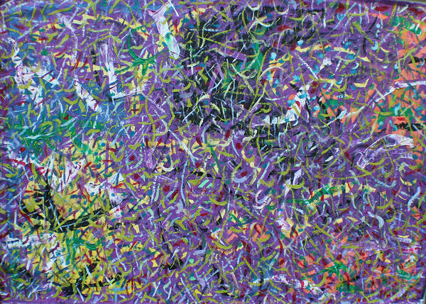 Color And Movement Art Print featuring the painting Felice by Biagio Civale