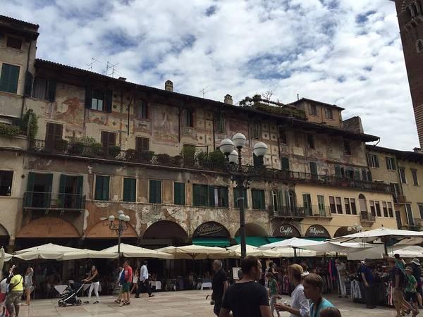 Verona Art Print featuring the photograph Verona by Kay Klinkers