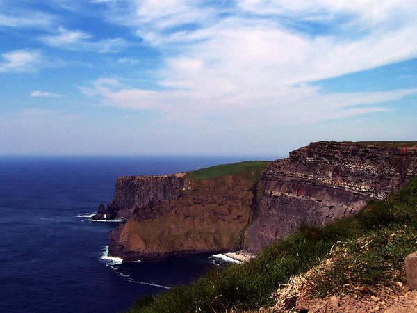 Irish Art Print featuring the photograph Cliffs of Moher Aill Na Searrach Ireland by Teresa Mucha