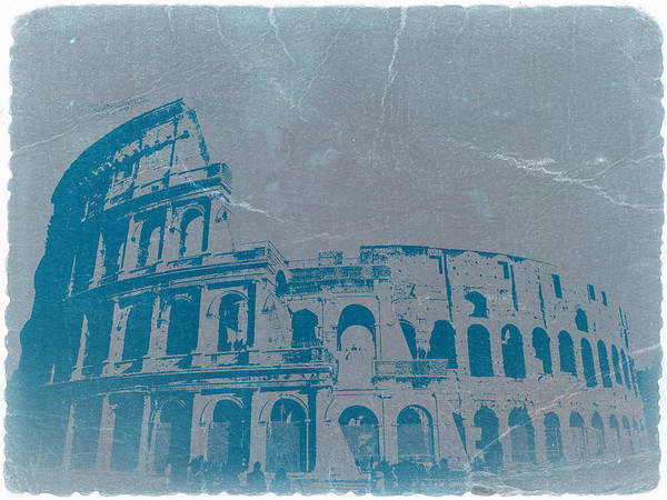 Coliseum Art Print featuring the photograph Coliseum by Naxart Studio