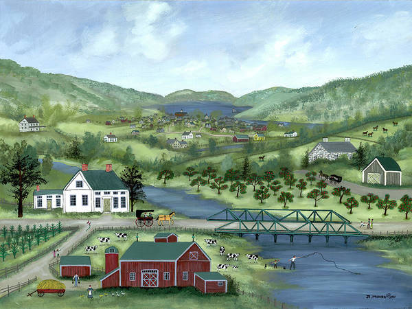 Crossing the Susquehanna by Janet Munro