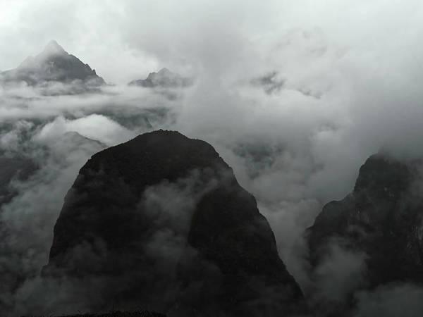 Dawn Art Print featuring the photograph Dawn View From Machu Picchu, 2013 by Chris Honeyman