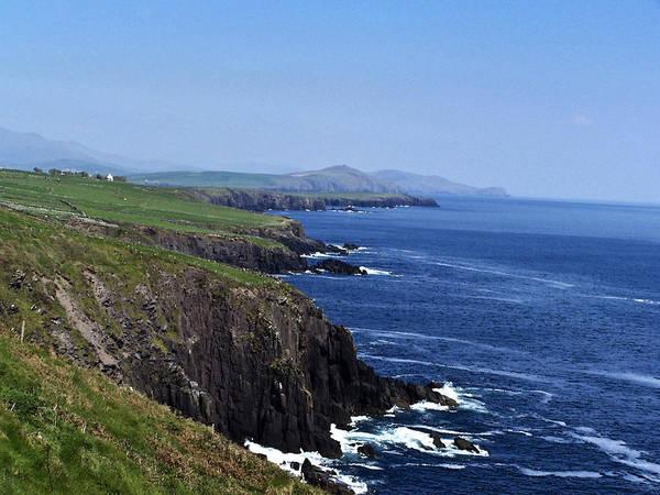 Irish Art Print featuring the photograph Dingle Coast Near Fahan Ireland by Teresa Mucha